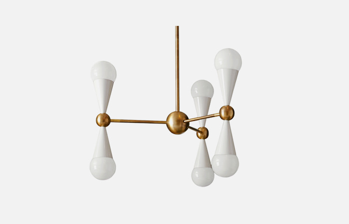 Caracas 6-Light Chandelier (IVORY)