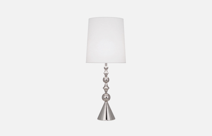 Harlequin Table Lamp (Silver)
