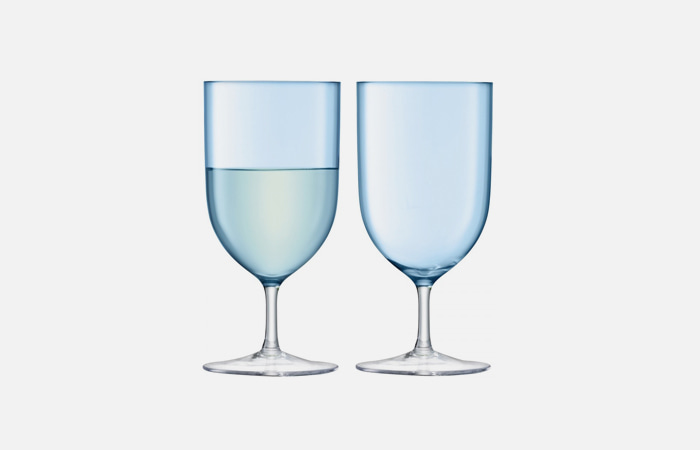 HINT Wine/Water Glass (Turquoise)