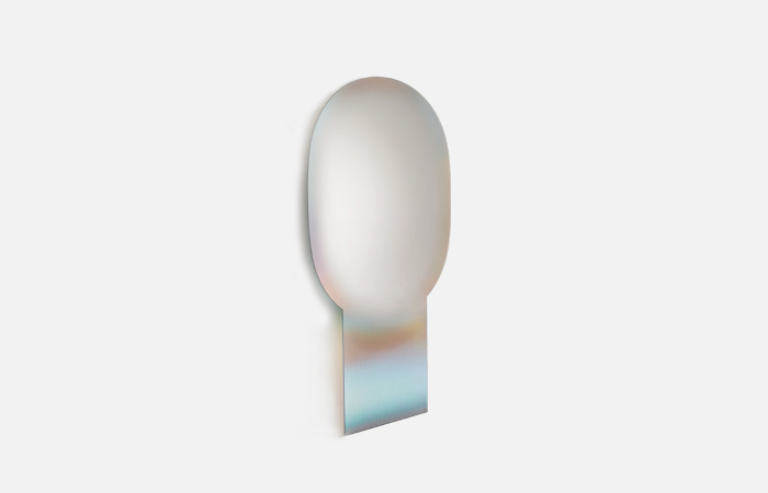Shimmer stand mirror